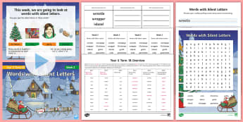 Year 5 Term 1B Week 2 Spelling Pack - Spelling Lists, Word Lists, Autumn Term, List Pack, SPaG