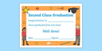 Second Class Graduation Certificate
