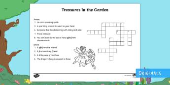 Treasures in the Garden Crossword - crossword, clue, answer, find, solve