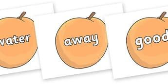Next 200 Common Words on Giant Peach to Support Teaching on James and the Giant Peach - Next 200 Common Words on  - DfES Letters and Sounds, Letters and Sounds, Letters and sounds words, Common words, 200 common words