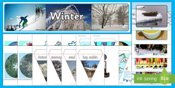 Winter Display Pack - Winter, Season, December, January, February, Snow, Activity Co-ordinators, Support, Ideas, Elderly C