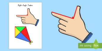 Right Angle Finders - right angle, angles, geometry, nz, maths moving