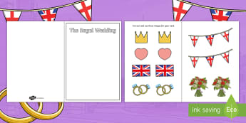 Crafts And Activities Prince Harry And Meghan Markle Primary Reso