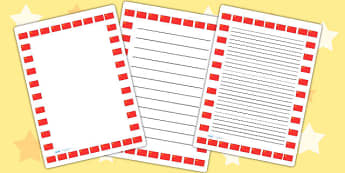 Chinese Flag Page Borders - chinese, flag, page borders, borders