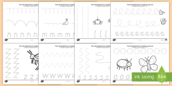 Minibeast Theme Pencil Control Activity Sheets English/Mandarin Chinese - Minibeast Theme Pencil Control Worksheets - worksheets, worksheet, pencil control worksheets, pencil