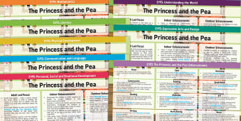 EYFS The Princess and the Pea Lesson Plan and Enhancement Ideas - planning, lesson ideas