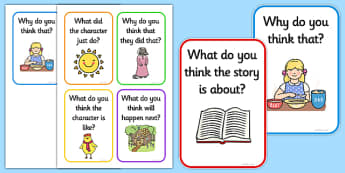 Reading Prompts and Questions - Reading, reading prompt, guided reading, reading question, reading questions, parent, parents, reading comprehension, guided reading questions