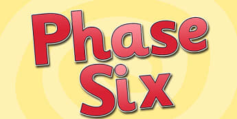 Phase Six Display Lettering-phase six, display lettering, themed display lettering, phase six display, lettering for display, phase 6, english