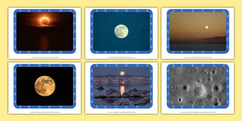 The Moon Display Photos - photo pack, the moon, space, display, textures