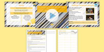 Manufacturing Processes - Joining and Forming Metals: L3 Addition Lesson Pack  - Key Stage 4 Design & technologydesign processGCSE design & technologydesign projectiterative designm