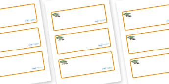 Safari Themed Editable Drawer-Peg-Name Labels (Blank) - Themed Classroom Label Templates, Resource Labels, Name Labels, Editable Labels, Drawer Labels, Coat Peg Labels, Peg Label, KS1 Labels, Foundation Labels, Foundation Stage Labels, Teaching Label