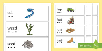 Phase 3 'ee' Read and Reveal Activity - Letters And Sounds, Phonics Screen, Digraph, Blend, Decode