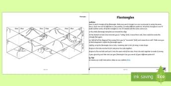 Australian Insects Flextangle Paper Craft - ACSSU211, habitat, flextangle, science art, australian fauna,Australia