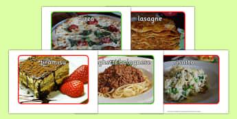 Italian Food Display Photos - italian food, display photos, display, photos, italian, food