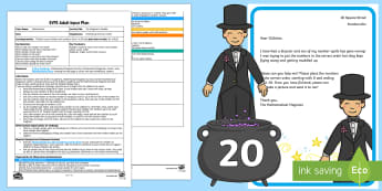 EYFS The Magician's Muddle Adult Input Plan and Resource Pack - EYFS, Number, ELG, mathematics, early years, EYFS Planning, Adult led,  teaching, teacher led, lesso