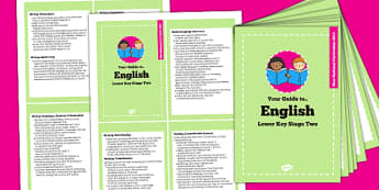 2014 Curriculum Cards Year LKS2 English - new curriculum, plan