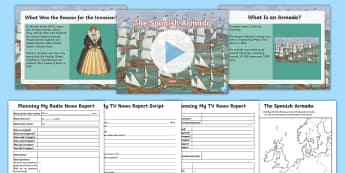 The Spanish Armada Resource Pack - Spanish Armada Pack, Spanish, Armada