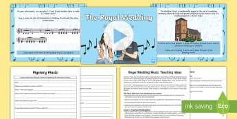 KS2 Royal Wedding Music Teaching Ideas - prince harry, meghan markle, windsor chapel, bridal march, wedding march, bach, mendelssohn, wagner