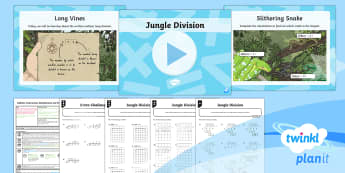 PlanIt Maths Y6 Addition, Subtraction, Multiplication and Division Lesson Pack Long Division (1)