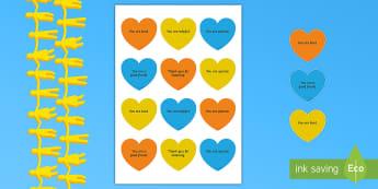 Kindness Week Kind Hearts - Twinkl Kindness Week, kindness week, twinkl kindness week, kind resources, kind hearts, friendship,