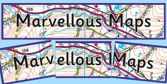 Marvellous Maps Display Banner - marvellous, maps, display, banner