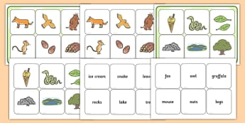 Matching Cards and Board to Support Teaching on The Gruffalo - the gruffalo, the gruffalo matching cards, the gruffalo matching images, the gruffalo image matching game, sen game