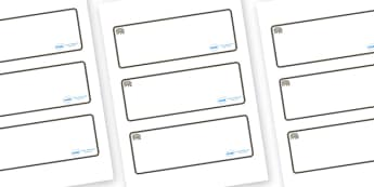 Rhino Themed Editable Drawer-Peg-Name Labels (Blank) - Themed Classroom Label Templates, Resource Labels, Name Labels, Editable Labels, Drawer Labels, Coat Peg Labels, Peg Label, KS1 Labels, Foundation Labels, Foundation Stage Labels, Teaching Labels