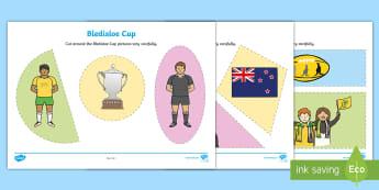 Bledisloe Cup Cutting Skills Activity Sheet - bledisloe cup, cutting, scissors, precision, shape, shapes, 2D, ,Australia