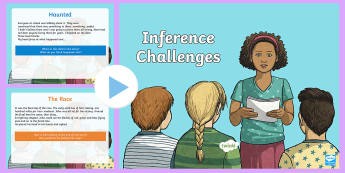 Inference Challenges PowerPoint - inference, inferences, challenges, powerpoint, presentation