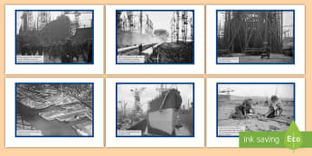 The Shipyards of the Clyde Photo Pack - shipyards, scoland, transport, second leve, social studies, QE2, ,Scottish