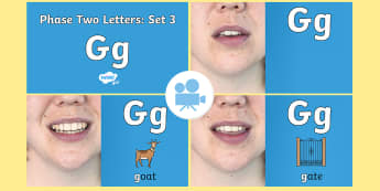 Phase 2 Phonemes : Set 3 'g' Video - Phonics, Letters and Sounds, Grapheme, pronunciation, c,g,k,o, phoneme, Twinkl Go, twinkl go, TwinklGo, twinklgo