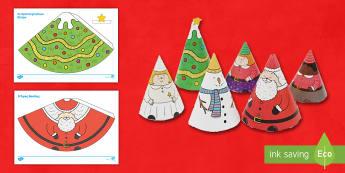 Χριστουγεννιάτικοι κώνοι φύλλο εργασίας. - Χριστούγεννα, χριστούγεννα, χριστουγεννα, κώνος, κωνος