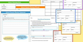 SMSC School Council Resource Pack - smsc, school council, resource pack, pack