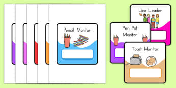 Monitor And Job Cards - monitor card, job cards, class management