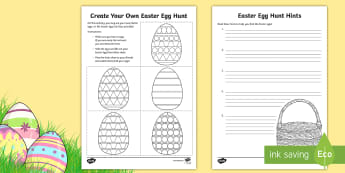 Create Your Own Easter Egg Hunt Activity - Canada Easter, hunt, egg hunt, Easter, easter egg, clues