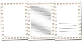 Open Hands Portrait Page Borders- Portrait Page Borders - Page border, border, writing template, writing aid, writing frame, a4 border, template, templates, landscape