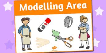 Modelling Area Sign - area, sign, area sign, modelling, model