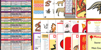 Chinese New Year Activity Planning and Continuous Provision Ideas Resource Pack (Ages 2-4) - Lesson, plans, planning, CNY, festivals, celebrations, UW, Understanding the World, China, adult led
