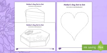 Mother's Day Dot to Dot Activity Sheet - mothers day, mothering sunday, mothers day, mums day