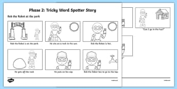 Phase 2 Tricky Words Spotter Story