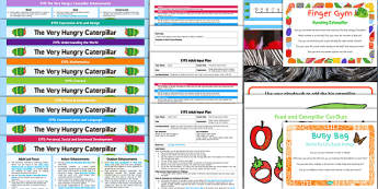 EYFS Bumper Planning Pack to Support Teaching on The Very Hungry Caterpillar - planning