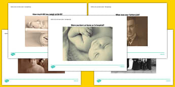 Elderly Care Life History Book My Beginnings Picture Prompts - Elderly, Reminiscence, Care Homes, Life History Books