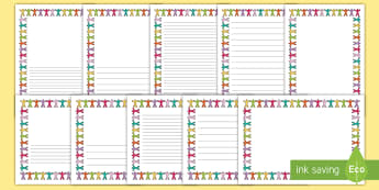 Rights Respecting School Page Border Pack-Scottish - Rights Respecting School, UNICEF, Rights of a child,Scottish, borders, pages, writing, writing frame