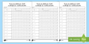 Mathematik Rechnen Primary Resources - 1./2. Klasse