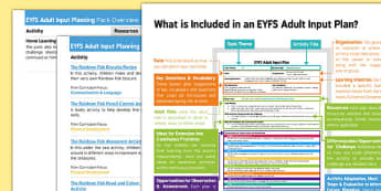 EYFS Bumper Planning Pack Overview - The Rainbow Fish, Marcus Pfister, under the sea, animals