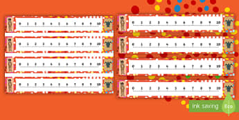 NAIDOC Week 0-10 Number Line - EYLF, Australia, aboriginal, indigenous, early years, counting, numbers, kindergarten, pre-rimary, k