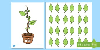 Phase Three Phonemes Beanstalk and Leaves Match - phase three, phase 3, phase, phonemes, beanstalk, leaves, activity