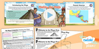 History: The Maya Civilisation: Meeting the Maya UKS2 Lesson Pack 1
