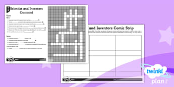 Science: Scientists and Inventors Year 4 Unit Home Learning Tasks