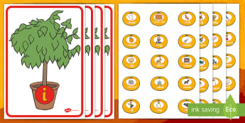 Chinese New Year Tangerines Phase 2 Phonics Game - EYFS, Early Years, KS1, Key Stage 1, initial sound, Letters and Sounds, letter sounds